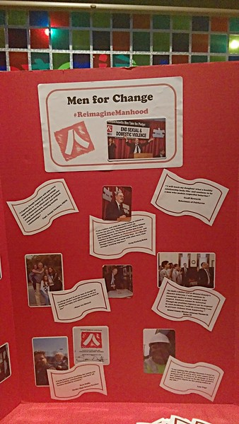New Bedford's Men For Change Event (Oct 2015)