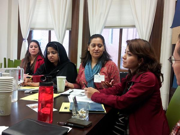 Pakistani Women Visit JDI